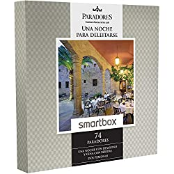 Smartbox - Caja Regalo -PARADORES: UNA Noche para DELEITARSE - 74 Paradores excepcionales y únicos como Castillos, Palacios o conventos