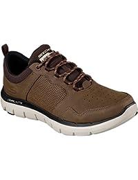 Zapatos para hombre, color marr�n , marca SKECHERS, modelo Zapatos Para Hombre SKECHERS ELECTED DRIGO Marr�n, Beige - marrón, 42