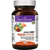 New Chapter Every Man, Men's Multivitamin Fermented with Probiotics + Selenium + B Vitamins + Vitamin D3 + Organic Non-GMO Ingredients - 72 ct by New Chapter