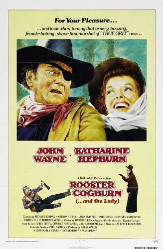 Rooster Cogburn Plakat Movie Poster (11 x 17 Inches - 28cm x 44cm) (1975) C