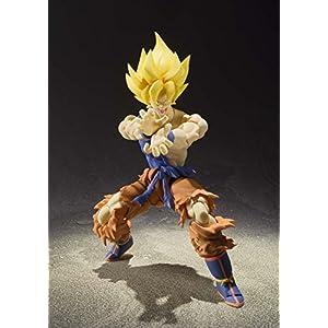 BANDAI – Figurine Dragon Ball Z – Super Saiyan Son Gokou Super Warrior Awakening S.H.Figuarts – 4543112964700