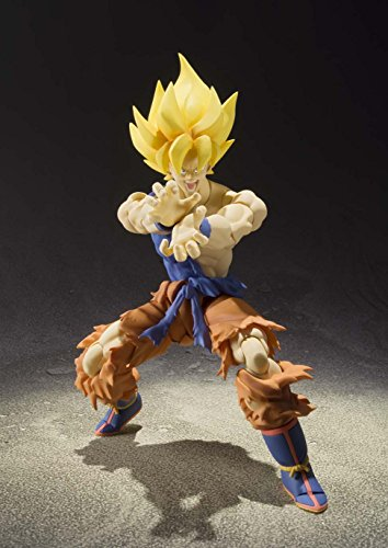 BANDAI - Figurine Dragon Ball Z - Super Saiyan Son Gokou Super Warrior Awakening S.H.Figuarts - 4543112964700 2
