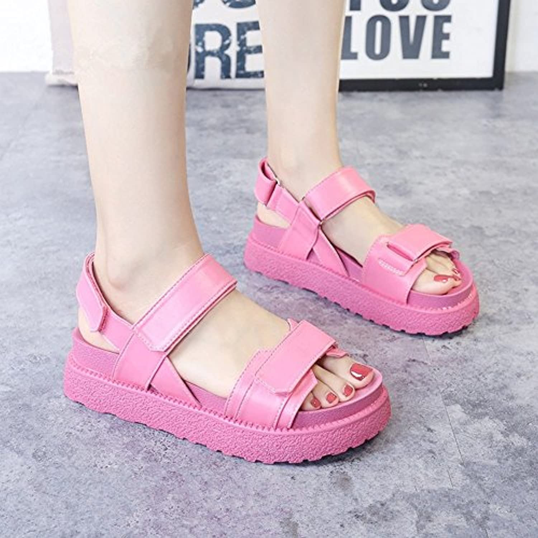 Sandalette-DEDE La Mujer Sandalias y Flip-Flops con Ultra-Delgada Plataforma Impermeable Sandalias Sandalias para... -