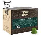 Note D'Espresso Cioccolata e menta, Bevanda in capsule, 7 g x 100