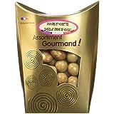 Les douceurs de Valentin Amandes et Noisettes Chocolat Lait Nougat 200 g - Lot de 2