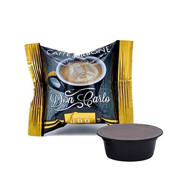 50 Capsule caffè Borbone Don Carlo oro a modo mio 2 spesavip