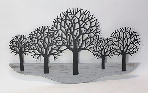 Holz-Wanddeko Inhalt: 15 Teile