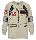 Best Mad Engine Mens Costumes - Mad Engine Ghostbuster Zeddemore Long Sleeve Costume T-Shirt Review