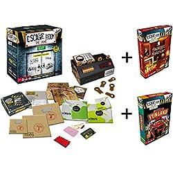 Outletdelocio. Pack Juego Escape Room Original + 2 expansiones. Edicion Española. +16 años
