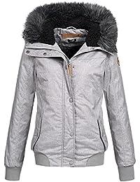 Eight2Nine Damen Winter Jacke Winterjacke Parka Outdoor warm 44278 S-XL  2-Farben ddaa4a1fd3