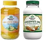 #8: Organic India Coconut Oil 500ml & Organic Ghee Pure Cow Ghee - 445gms