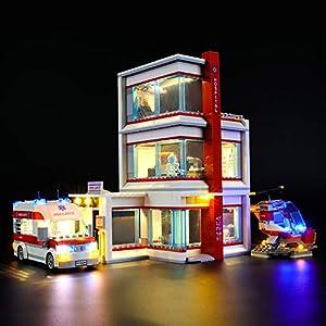 LIGHTAILING Set di Luci per (City Ospedale) Modello da Costruire - Kit Luce LED Compatibile con Lego 60204 (Non Incluso… 0781621988501 LEGO
