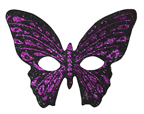 as Bling Butterfly Eyewear Mask Dress Up for Children (One Size, Black) ()
