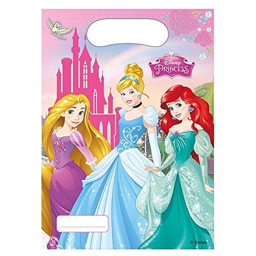 6 Sacs cadeaux Princesses Disney 5201184850053