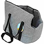 me & my grey soft pet carrier Me & My Grey Soft Pet Carrier 51ZmX1jL 7L
