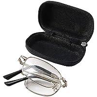 155ca7f37c81 WINOMO Anti-fatigue Folding Reading Glasses Eyewear +1.50 with Protective  Case