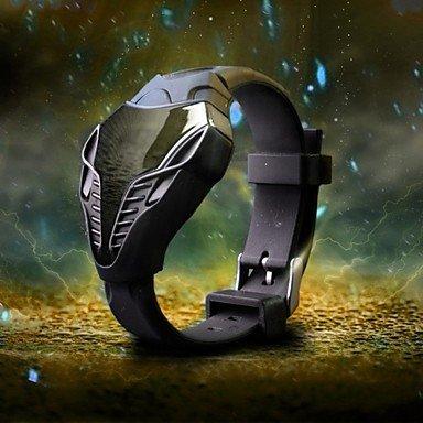 Schöne Uhren, Militäruhr ( LED ) - digital - Quartz ( Farbe : Schwarz , Großauswahl : Einheitsgröße )