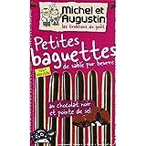 michel et augustin Petites baguettes au chocolat noir et pointe de sel - ( Prix Unitaire ) - Envoi Rapide Et Soignée