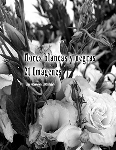 flores blancas y negras 21 Imágenes por Grace Divine