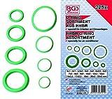 BGS, BGS-8121, 8121 HNBR O-Ring assortimento, diametro 3-22 mm, 225 pezzi
