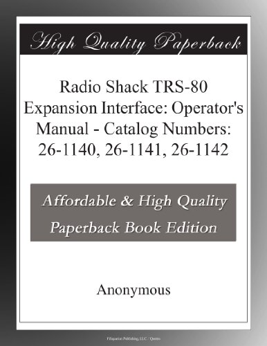 radio-shack-trs-80-expansion-interface-operators-manual-catalog-numbers-26-1140-26-1141-26-1142