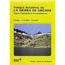 Parque regional de la Sierra de Gredos: mapa excursionista escala 1:25000