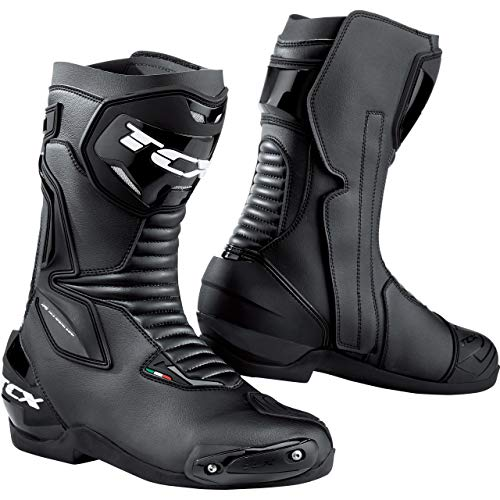 STIVALI MOTO TCX 7665 SP-MASTER // WATERPROOF // GORETEX (49 EUR - 14 US, BLACK)