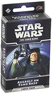 Star Wars Card Game: Assault on Echo Base Force Pack - Juego de cartas Star Wars, para 2 jugadores (Fantasy Flight FFGSWC05) (importado)