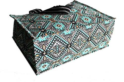 Borsa mare Gian Marco Venturi donna moda mare l.etnica 44352 turchese