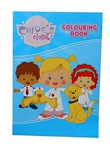 Alligator Books Chloe de armario libro para colorear