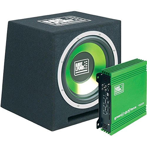 Raveland Car-HiFi-Set Green Force I (Car-audio-subwoofer 250w)