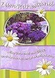 Ruhestandskarte Blumengarten Alles Gute und viel Glück im neuen Lebensabschnitt