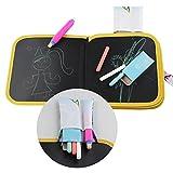 Tavolo da disegno portatile per bambini, scrivere e imparare giocattolo innovativo, colorato gesso libro di stoffa bambino presto educativo apprendimento tavolo da disegno Graffiti (tre tipi di conseg