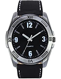 Clothly Premium Quality Swiss Movement Leather Strap Classy Dial Analogue Watch For Men & Boys-Swiss Movement-Second...