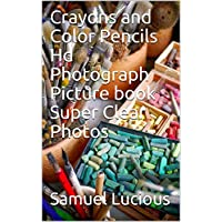 Crayons and Color Pencils Hd Photograph Picture book Super Clear Photos