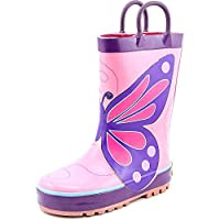 Western Chief Kids Butterfly Wings Rain Boot(Toddler/Little Kid/Big Kid) Pink