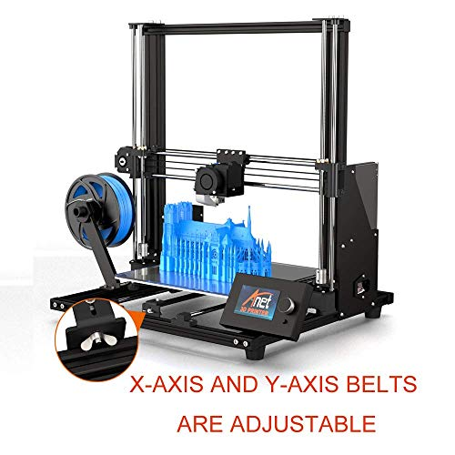 2019 Anet upgraded A8plus integrated desktop FDM metal DIY 3D Printer Kits with large 12864 LCD screen and large bulid volume 300x300x350mm - 2