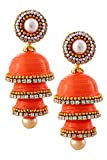 TRADITION INDIA Hancrafted Single Stud O...