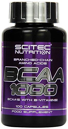 #Scitec BCAA 1000 100 Kapseln, 1er Pack (1 x 100 g)#