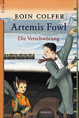 Buchseite und Rezensionen zu 'Artemis Fowl - Die Verschwörung' von Eoin Colfer