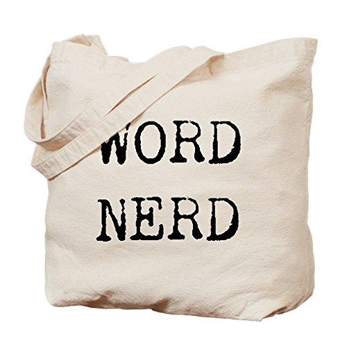 CafePress–Wort Nerd–Leinwand Natur Tasche, Reinigungstuch Einkaufstasche (Wort-nerd)