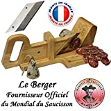 """Le Berger: ghigliottina affettatrice per salame """"Montagnarde"""" + lama di ricambio in omaggio"""