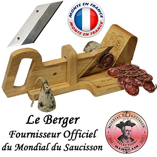 Le Berger: ghigliottina affettatrice per salame 'Montagnarde' + lama di ricambio in omaggio
