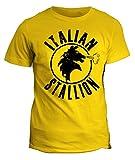 fashwork Tshirt Italian Stallion - Boxe Sport - Rocky - Stallone - in Cotone by