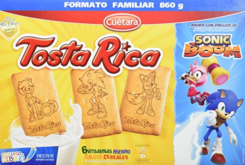 Tosta Rica - Galletas, 860 g - [Pack de 3]