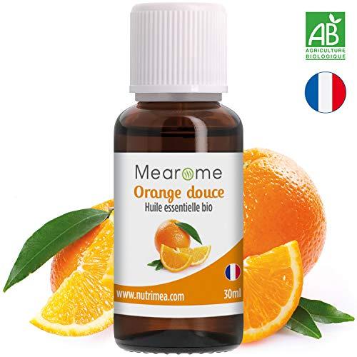 Huile essentielle d'ORANGE DOUCE BIO - 30 ml - 100% Pure et Naturelle, certifiée...