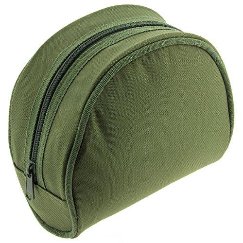 NGT Unisex FLA reelcase Gepolsterte Angelrolle Fall Tasche 282, grün, 9x 17cm