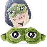 Gaddrt 2pc Schlafmasken Augenmaske Cute Eyes Cover The Sad 3D Augenmaske Cover Schlaf Rest Schlaf Anime Lustiges Geschenk