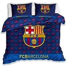 Barcelona F.C. Juego de Funda de edredón Doble de 100% algodón 81668d5a58a