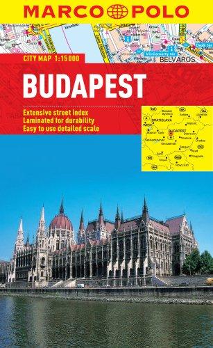 Budapest City Map (Marco Polo City Maps) por Marco Polo